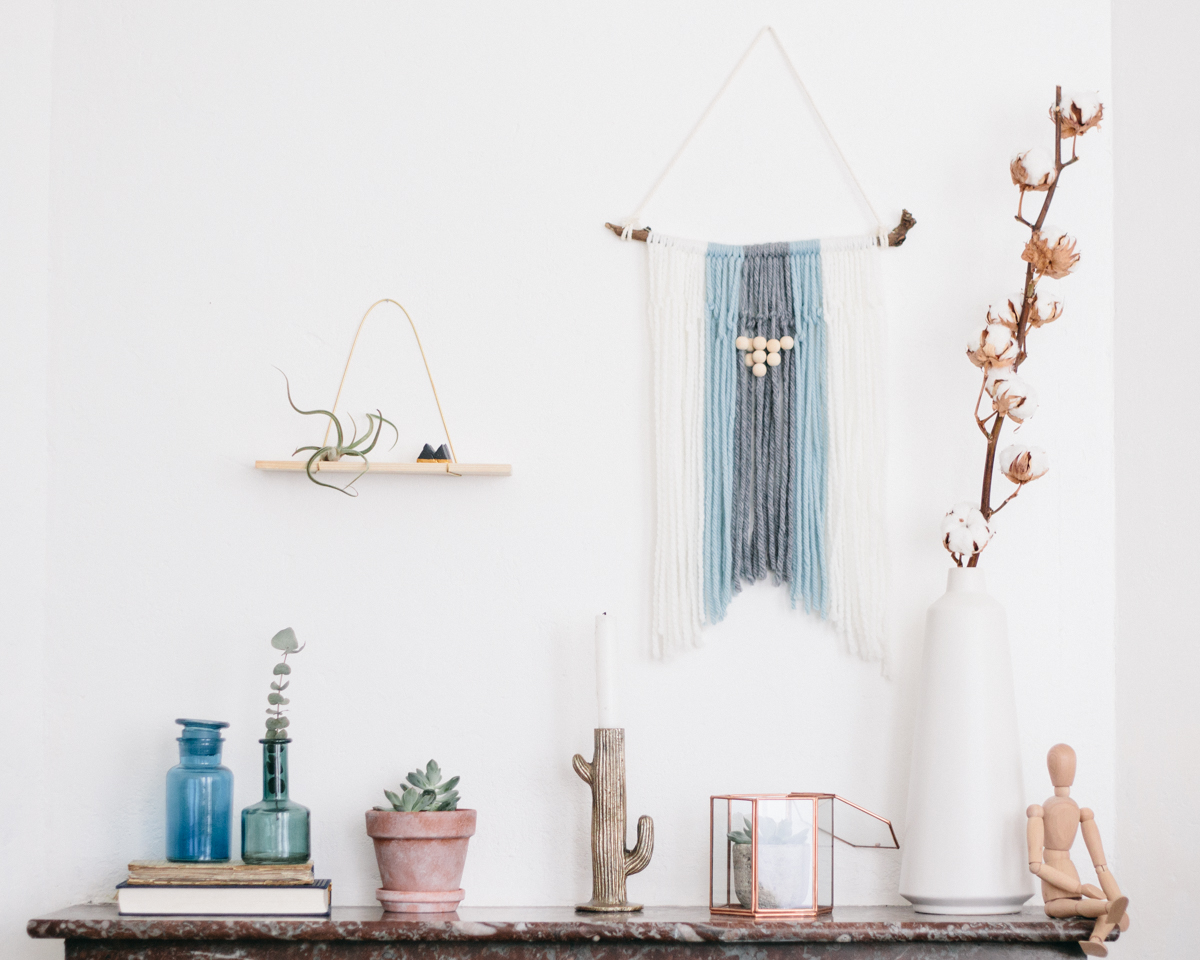 DIY - etagere laiton et pin - carnet de printemps-6