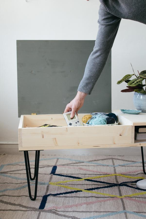 table basse diy elegant diy une table basse design raliser sans outils with table basse diy. Black Bedroom Furniture Sets. Home Design Ideas