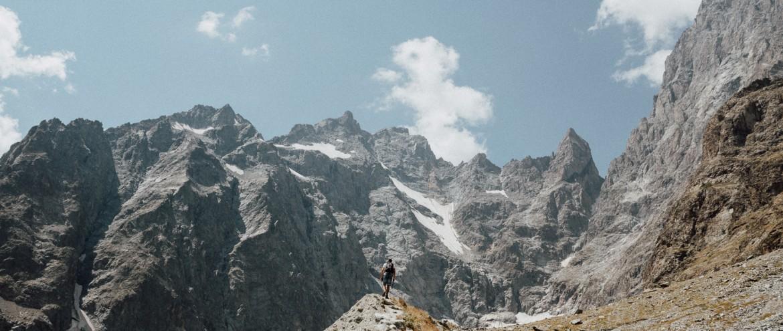 Aux pieds du Glacier Noir