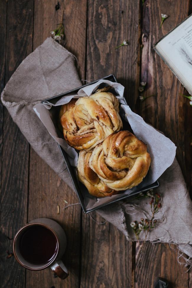 cinnamon rolls recette carnet de printemps