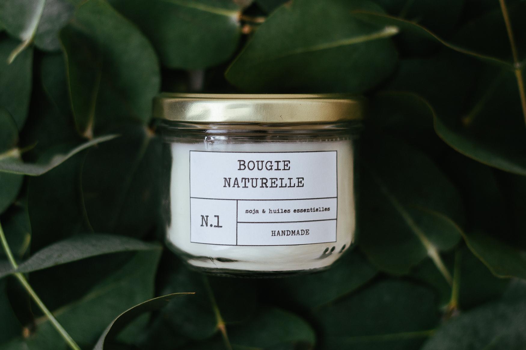 Bougie Huile Essentielle Maison bougie *naturelle* maison : douceur *d'ambre* - carnet de printemps