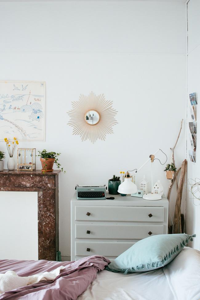 un petit tour chez nous la chambre carnet de printemps. Black Bedroom Furniture Sets. Home Design Ideas