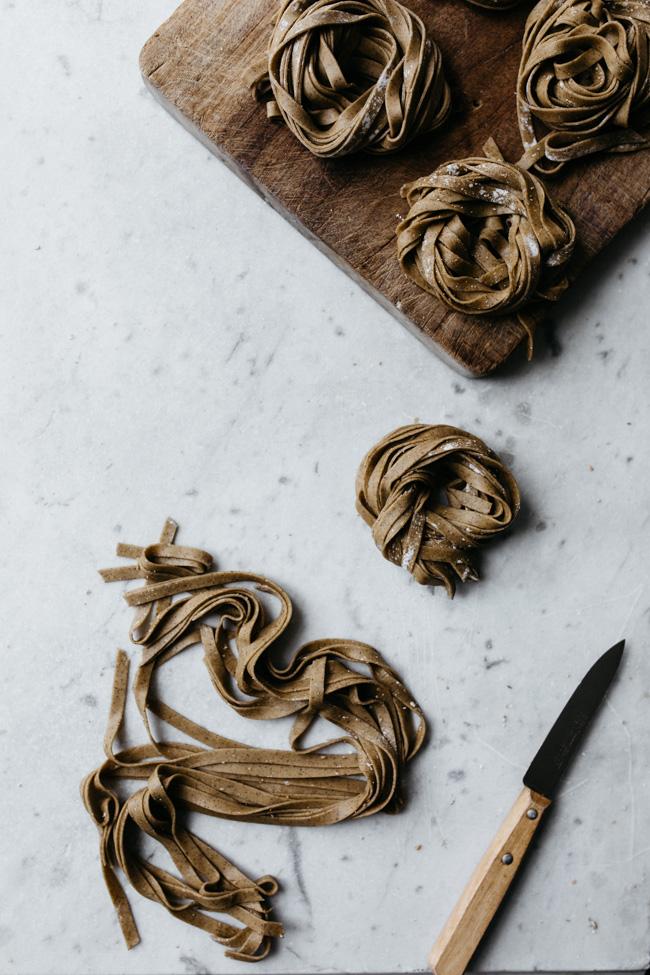 P tes fra ches la farine de sarrasin po l e d 39 automne carnet de printemps - Temps de cuisson chataigne a l eau ...